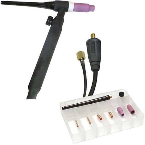 GYS Torche TIG à valve SR17V Ø10/25 + Accessoires - 044425