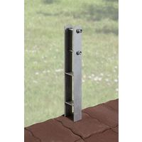 H-Anker-Set 3-teilig 9x9 Weka Terrassenüberdung / Anlehn-Carport