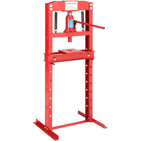 "main image of ""H Fram 12 ton Floor Hydraulic Bench Press Workshop Garage Press Machines, Black"""