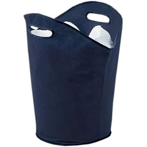 H & L Russel Handled Laundry Hamper (One Size) (Marine Blue)