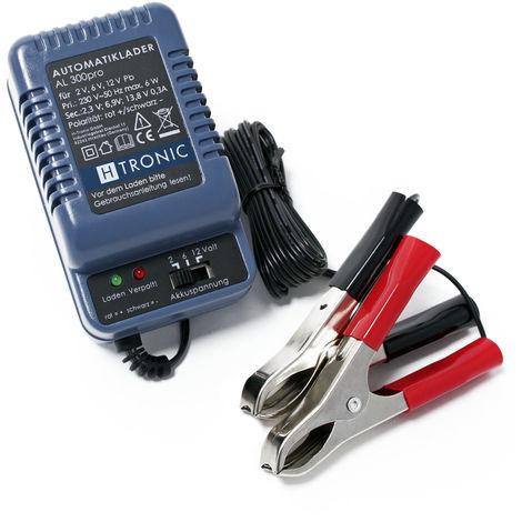 H-Tronic AL 300pro 2/6/12V Cargador Automático Baterías Vehiculos Moto Barco Carga lenta en invierno