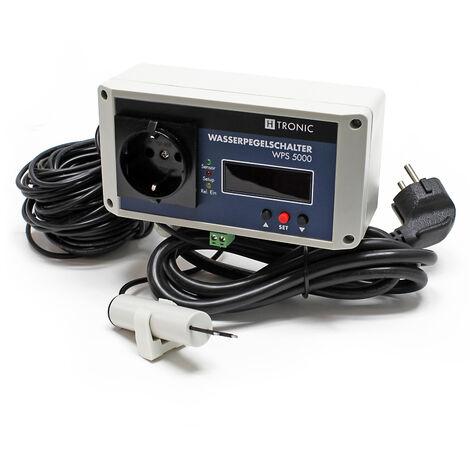 H-Tronic WPS 5000 Wasserpegelschalter mit 30m Sensorkabel 2500W Wassermelder Levelschalter