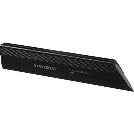 Haarlineal DIN 874/00 L.500mm Spezialstahl Q.46,5 x 10mm PROMAT