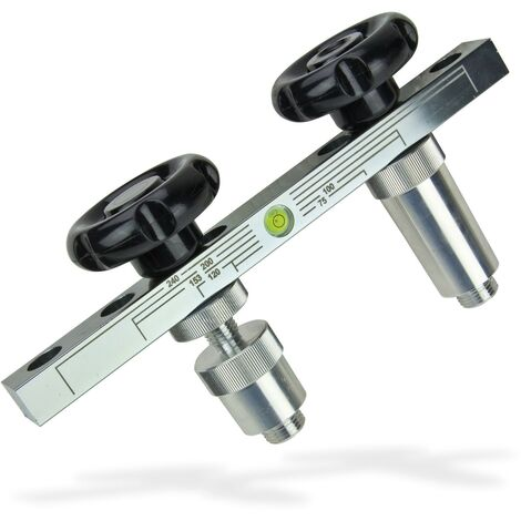 Haas Eckventilwasserwaage Montagehilfe Wasserwaage Eckventil Montageschablone