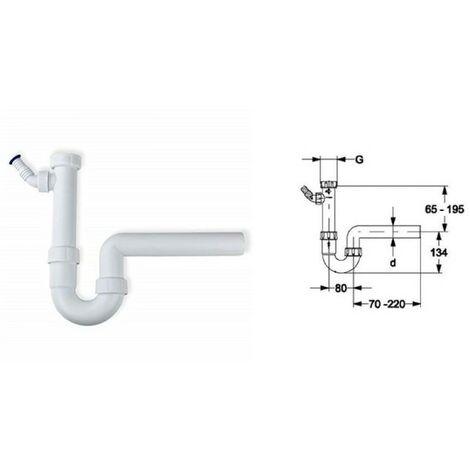 Viega Geruchsverschluss 1 1//2 x 50mm Geräteanschluss Siphon Sifon Spüle Küche