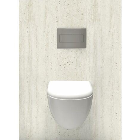 Habillage décoratif Bâti WC DECOFAST Classique Chic - Minéral