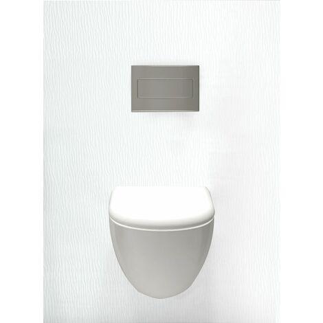 Habillage décoratif Bâti WC DECOFAST Cosy Banquise