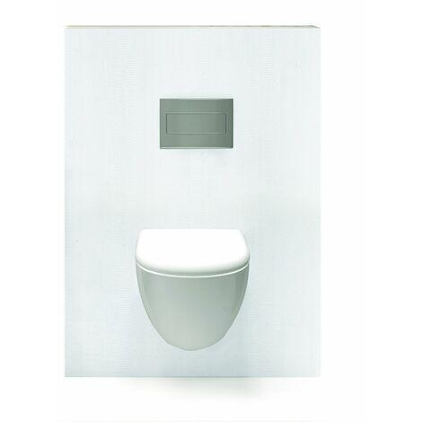 Habillage décoratif Bâti WC DECOFAST Élégance - Onde Blanche