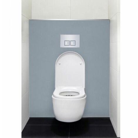 Habillage décoratif Bâti WC DECOFAST Gris Perle