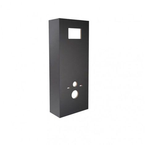 Habillage pour bâti EVO de marque REGIPLAST noir brillant