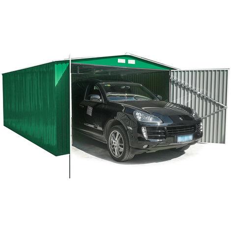 Habit box casetta garage in lamiera giardino esterno 380x420xh232cm garage l