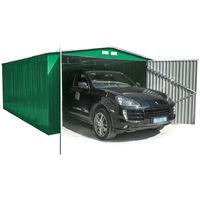 Habit Box Casetta Garage in lamiera zincata 380x420xh232cm GARAGE L