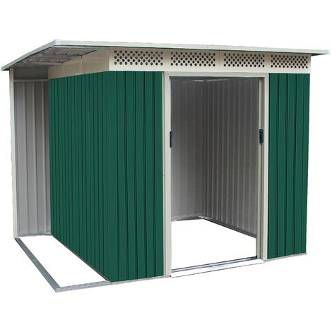 Habit Box Casetta in lamiera da giardino zincata 257x200xh187cm CHESTER B