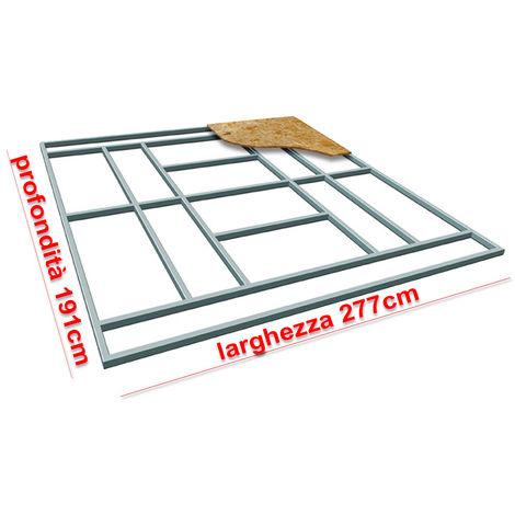 Habit Supporto pavimento base box casetta L-PLUS 277x191cm