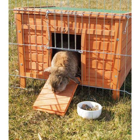 Hábitat para pequeños animales. Conejos y conejillos de indias. 42 x 43 x 51 cm