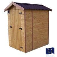 Habrita - Abri WC EDEN toilette sèche 16 mm surface 1,44m2 - ED1414WC