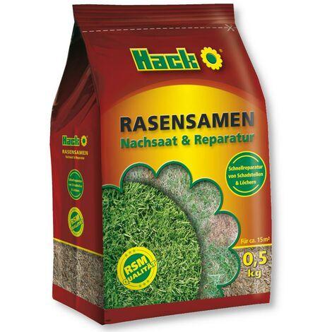 """main image of """"HACK graines de gazon réensemencement et réparation 500 g graines de gazon RSM, semences de gazon de qualité"""""""