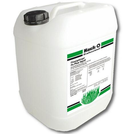 HACK PROFI engrais liquide Fe Plus liquide 15(+4+8), 20 litres