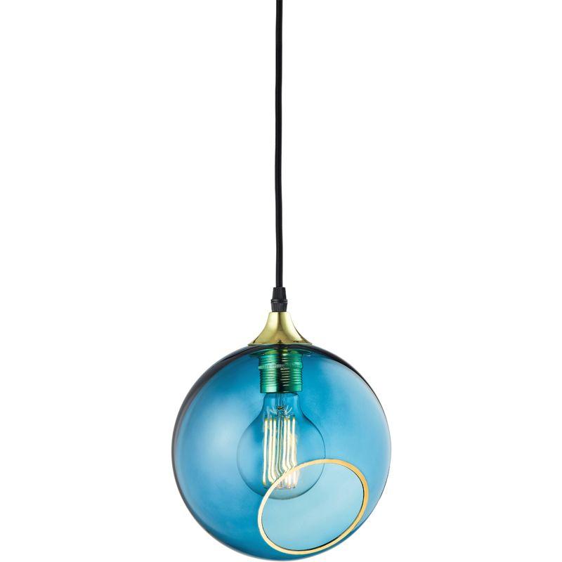Greenice - Hängelampe 'Ballroom Blau Sky' E27 Ohne Birne (DBU-22707)
