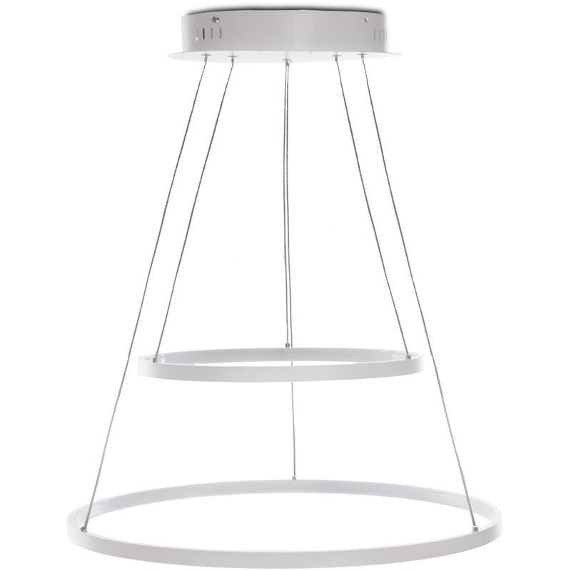 Greenice - Hängelampe LED Circle 62W 4810Lm 30.000H Alana | Natürliches Weiß (HO-SUS-CI-62W-02-W)