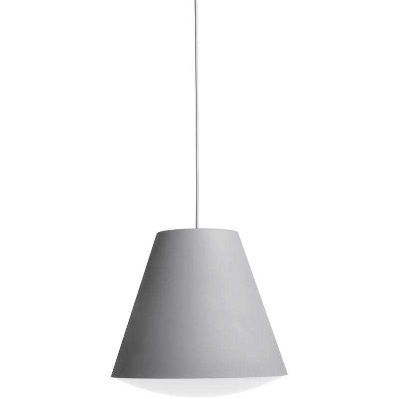HängeLampe 'Sinker L' Hay Grau LED 13W 1055Lm WArmweiß [HAY-400476_1509000] | Warmes weiß (HAY-400476_1509000) - GREENICE