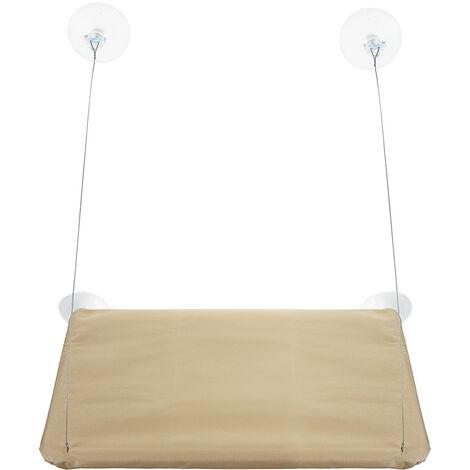 Hängematte Sitzkissen Matte Bett Fensterhalterung sonnig für Katze Welpentier