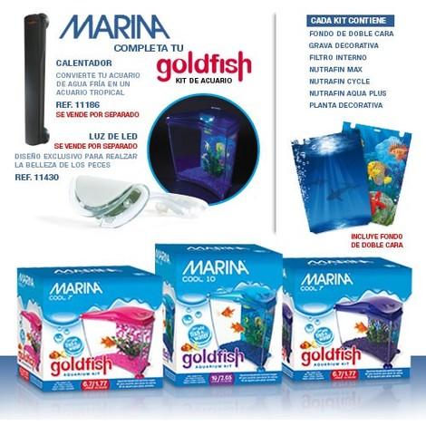 Hagen MARINA Acuario Cool Goldfish 6,7 litros