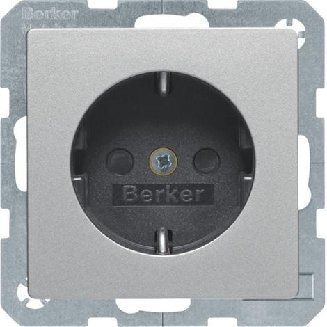 HAGER 47236084 PRISE DE COURANT ALUMINIUM BERKER