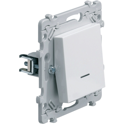 HAGER Essensya - Interrupteur à griffes avec voyant lumineux
