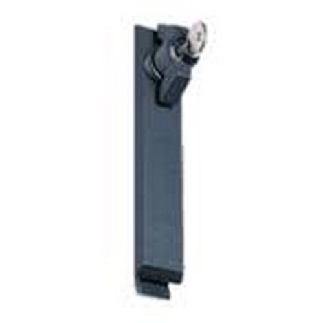 Hager FZ526 Metallic Lock button cylinder - 2 keys n