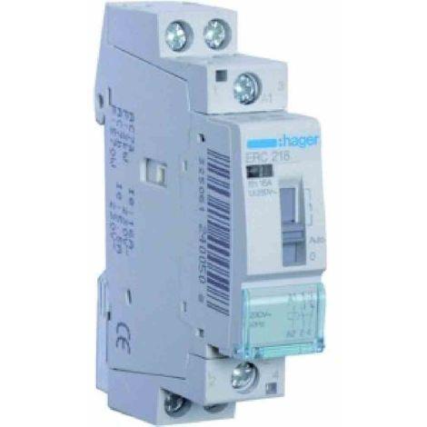 Hager Installationsrelais 16A 1S+1 230V ERC218