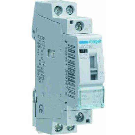 Hager Installationsrelais 16A, 2S, 230V 230V