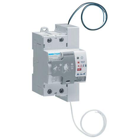 Hager interrupteur différentiel à réarmement automatique 40A 2P CDA240SC
