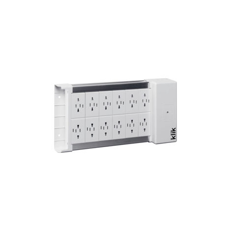 Hager Klik KLDS12 Outlet Lighting Distribution Box (KLDS12)