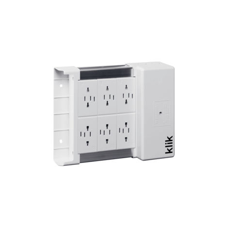 Hager Klik KLDS6 Outlet Lighting Distribution Box (KLDS6)