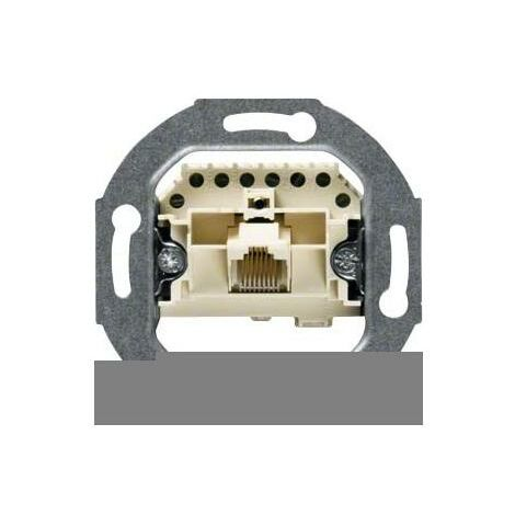 6//Klasse E Hager 455501/Doppel RJ45 Cat