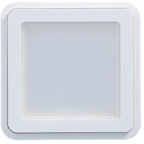 Hager WNA455B Adaptateur Cubyko KNX associable Blanc