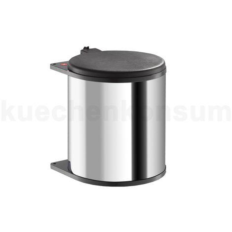 """Hailo Abfallsammler 3715101 Big Box MB Swing bs 15 Liter Edelstahl / braun-""""4007126371515"""""""