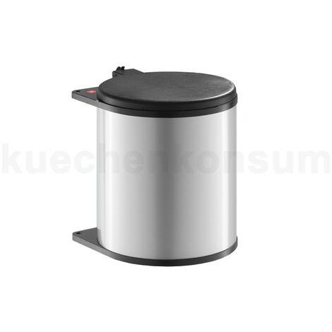 "Hailo Abfallsammler 3715211 Big Box MB Swing 15 Liter silber / schwarz-""4007126371607"""