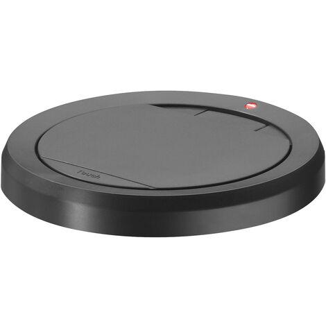 Hailo Deckel Touch mit Klemmring in schwarz für BigBin Touch/XL