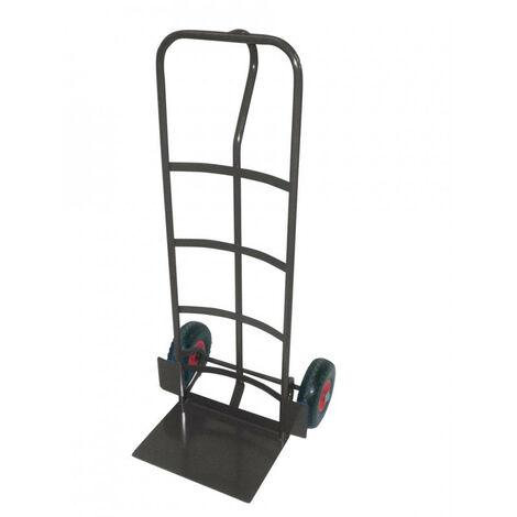 Hailo - Diable acier charge lourde 365 kg hauteur 1m32