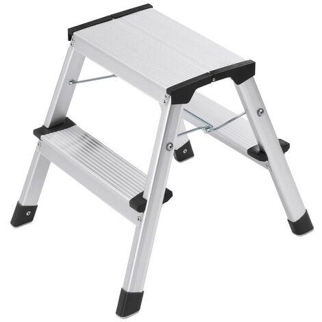 Hailo - Escalera taburete plegable 2 x 2 pasos - L90 STEP-KE