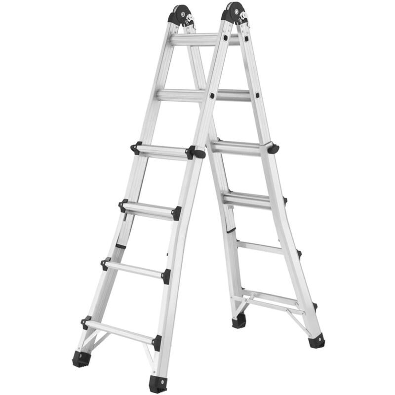 Image of Extending Ladder MTL 123 cm Aluminium - Hailo