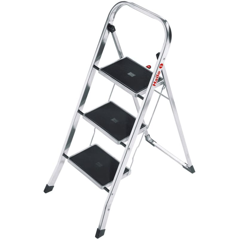Image of Folding Stepladder K30 3 Steps 105 cm 4393-801 - Hailo