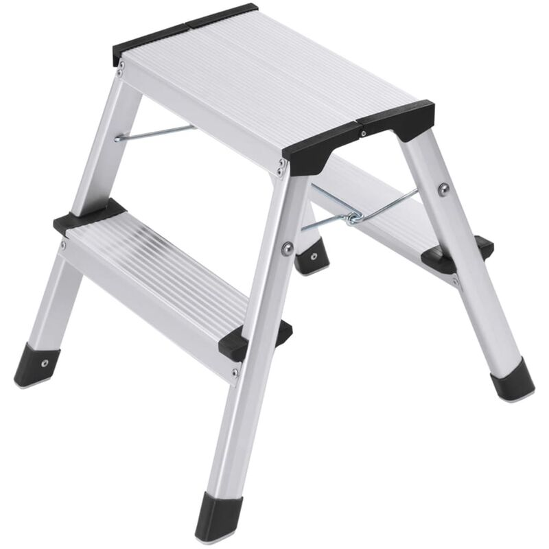 Image of Hailo Folding Stepladder L90 Step-ke 2x2 Steps 40 cm 4442-701