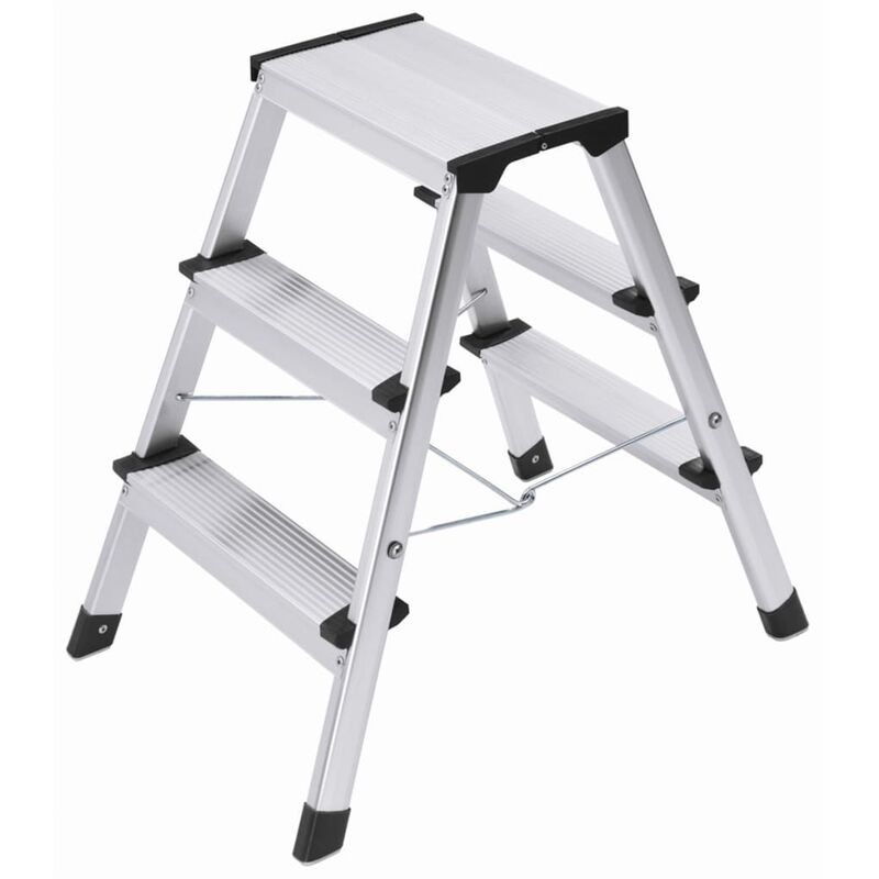 Image of Hailo Folding Stepladder L90 Step-ke 2x3 Steps 60 cm 4443-701