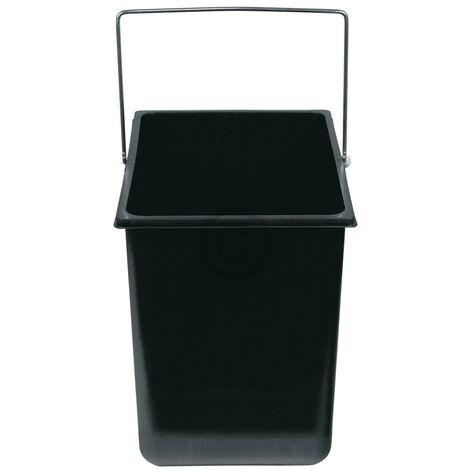 """Hailo Inneneimer 316x226x286mm 18 Liter Hailo 1086239 schwarz für Einbau-Abfallsammlersystem-""""10031749"""""""