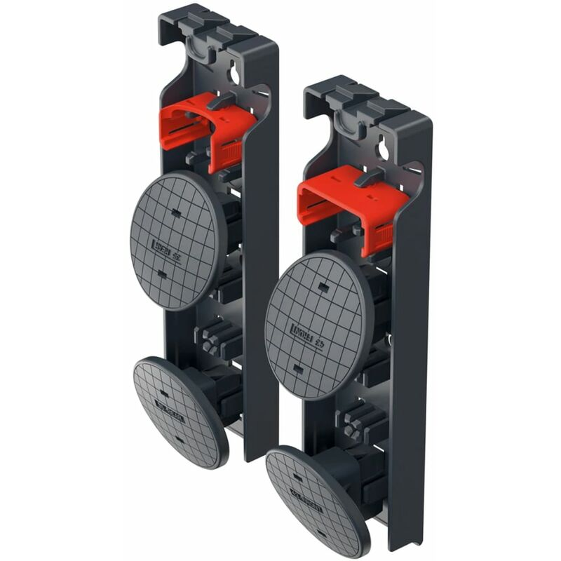 Image of Ladder Replacement Foot Set EasyClix Garden Size L 9948-001 - Hailo