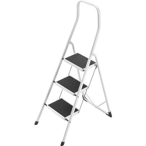 Hailo Safety - Mini escalera acero