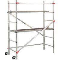 Hailo Scaffold 1-2-3 300 180 cm Aluminium 9459-301